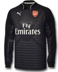 Arsenal maillot gardien noir 2014 2015