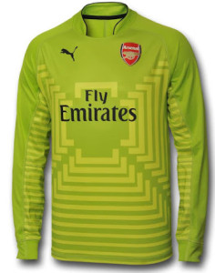 Arsenal maillot gardien vert 2014 2015