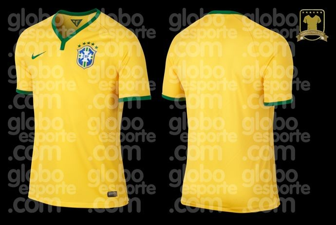 Bresil maillot coupe du monde 2014