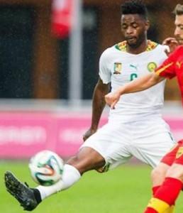 Cameroun 2014 troisieme maillot blanc coupe du monde 2014