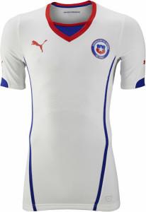 Chili 2014 maillot foot extérieur coupe du monde