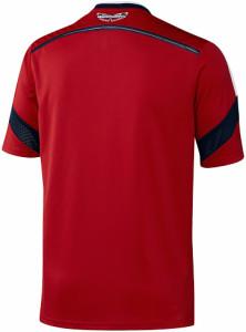 Colombie 2014 maillot foot extérieur coupe du monde 2014 dos