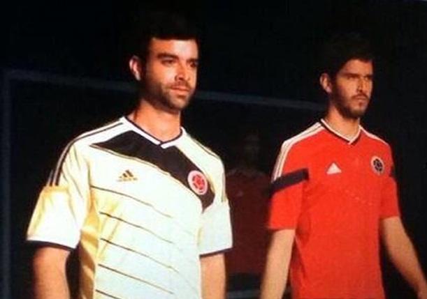 Colombie maillot exterieur rouge 2014