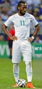 Cote Ivoire 2014 maillot third blanc coupe du monde