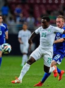 Cote Ivoire 2014 troisieme maillot third blanc coupe du monde