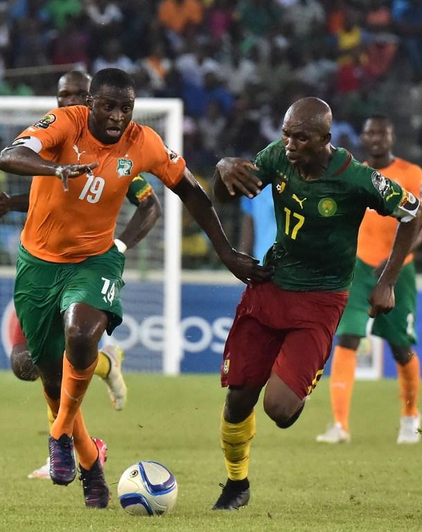 Cote Ivoire 2015 maillot domicile CAN 2015 short exterieur