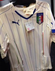 Maillot Italie extérieur coupe du monde 2014