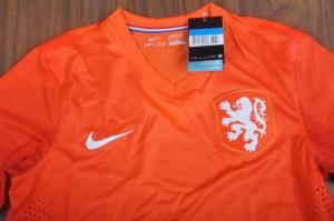 Pays-Bas 2014 Hollande haut maillot foot domicile coupe du monde