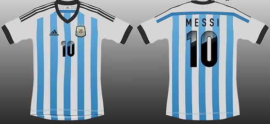 argentine 2014 maillot foot CDM