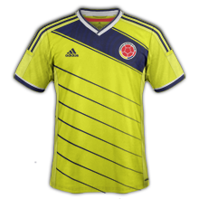colombie 2014 domicile maillot coupe du monde صور تيشرتات كل منتخبات كأس العالم 2014