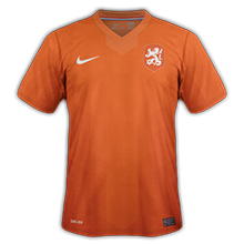 hollande domicile maillot coupe du monde 2014