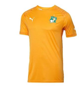 Cote d'Ivoire 2014 2015 maillot domicile