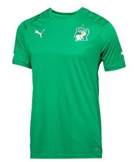 Cote d I voire 2014 maillot extérieur coupe du monde