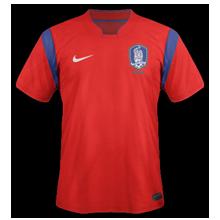 maillot foot domicile Corée du Sud 2014 coupe du monde