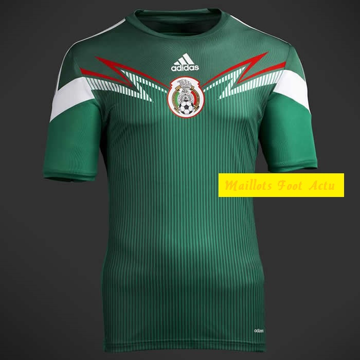mexique maillot football coupe du monde 2014