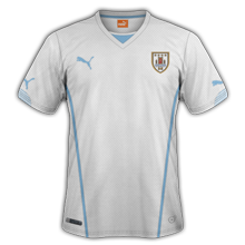 Uruguay 2014 maillot foot extérieur coupe du monde