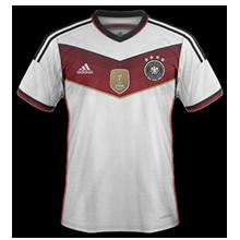 Allemagne 2015 maillot domicile qualifications Euro 2016