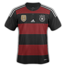Allemagne 2015 maillot exterieur qualifications Euro 2016