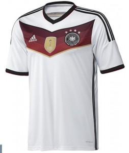 Allemagne maillot domicile 4 etoiles champion du monde 2014