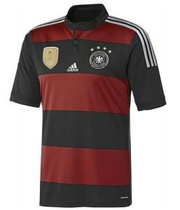 Allemagne maillot exterieur 4 etoiles champion du monde 2014