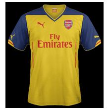 Arsenal maillot foot extérieur 2015