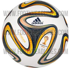 Ballon finale coupe du monde Adidas Brazuca 2014