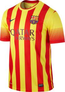 maillot foot senyera 2014 2015 Barcelone