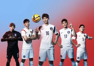 Coree du sud exterieur maillot football coupe du monde 2014