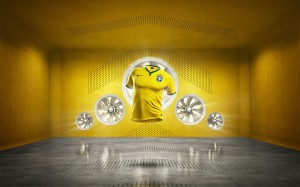 Brésil maillot domicile 2014
