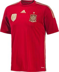 Espagne maillot foot  domicile coupe du monde 2014