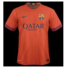 FC Barcelone 2015 maillot exterieur 14-15