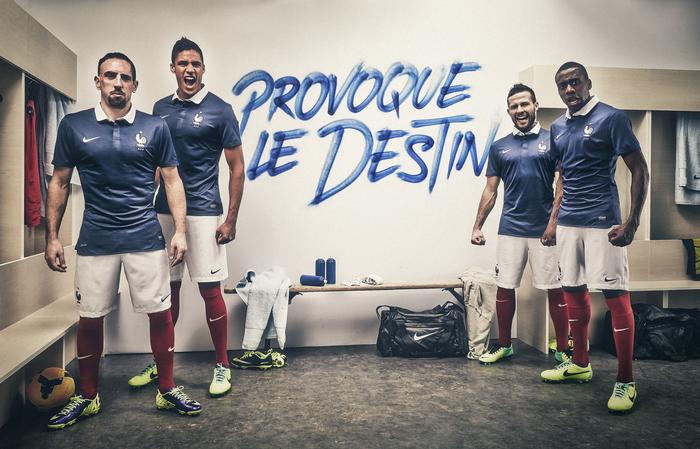 FFF maillot equipe france 2014 officiel