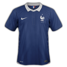 maillot domicile France 2014 coupe du monde football