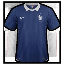 maillot domicile France 2014 coupe du monde football