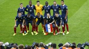 Maillot France domicile 2014 contre Honduras