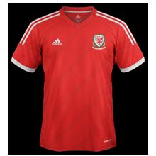 Pays de Galles maillot foot domicile 2014