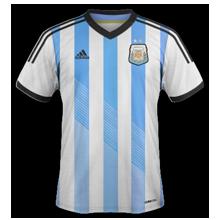 argentine 2014 domicile maillot coupe du monde