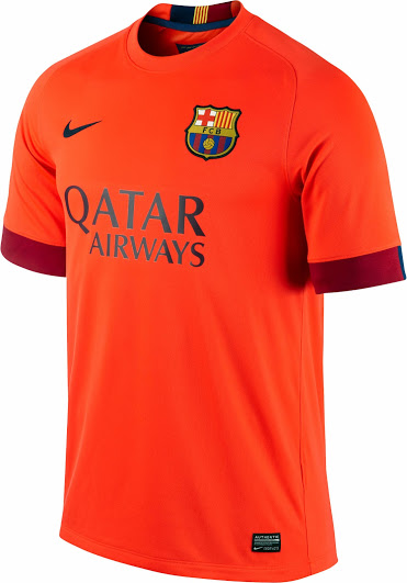 Maillots fc barcelone 2014 2015 maillotfootpascherthailande for Maillot barcelone exterieur