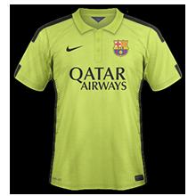 barcelone 2015 troisieme maillot third LDC