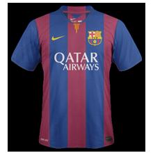 barcelone domicile 2015