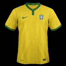 Brésil maillot domicile 2014 coupe du monde