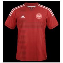 danemark 2014 domicile maillot