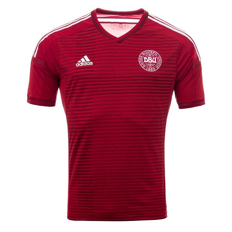 danemark maillot domicile 2014 coupe du monde