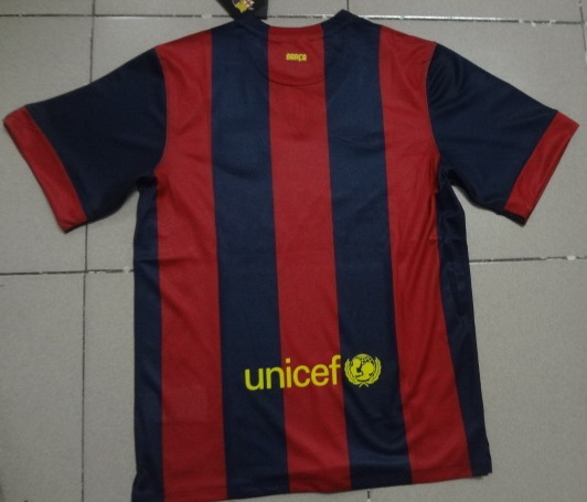 Maillots fc barcelone 2014 2015 maillotfootpascherthailande for Maillot exterieur barcelone 2014