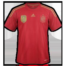 Espagne maillot domicile 2014 coupe du monde maillots foot actu - Coupe du monde espagne 2014 ...