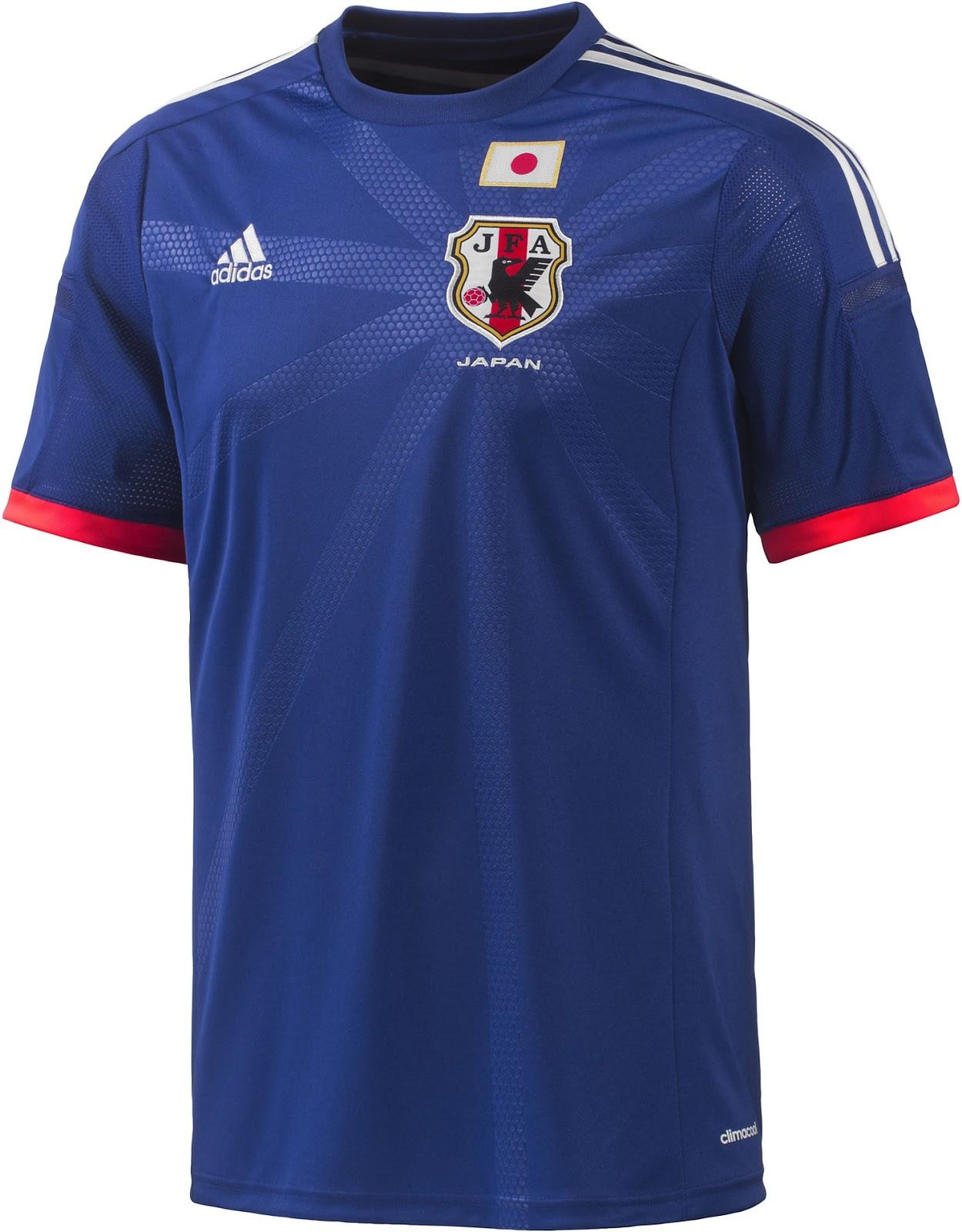 japon maillot domicile 2014 coupe du monde