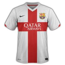 FC Barcelone Maillot-Barcelone-2015-third
