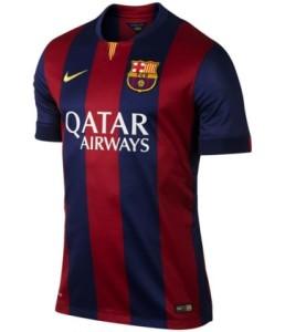 maillot domicile Barcelone FC 2015