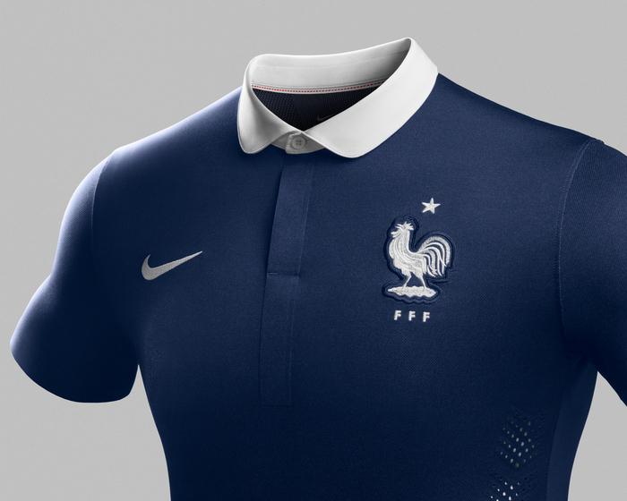 maillot domicile France 2014 coupe du monde