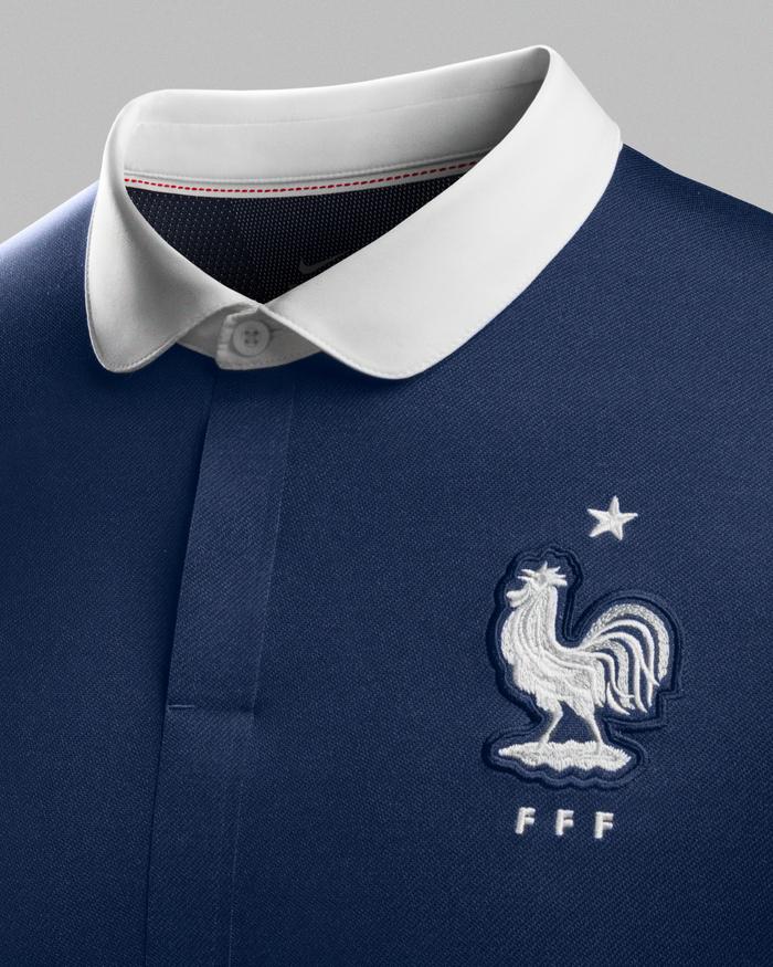 maillot domicile France 2014